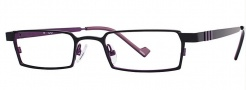 OGI Eyewear 2222 Eyeglasses Eyeglasses - 670 Black / Purple
