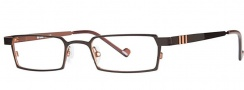 OGI Eyewear 2222 Eyeglasses Eyeglasses - 686 Brown / Copper