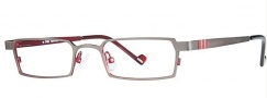 OGI Eyewear 2222 Eyeglasses Eyeglasses - 968 Dark Granite / Red