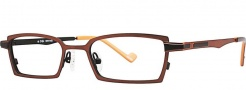 OGI Eyewear 2223 Eyeglasses Eyeglasses - 973 Copper Dark Brown