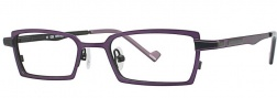 OGI Eyewear 2223 Eyeglasses Eyeglasses - 972 Purple Black