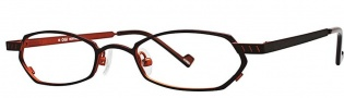 OGI Eyewear 2230 Eyeglasses Eyeglasses - 738 Dark Brown / Burnt Orange