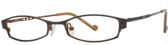 OGI Eyewear 2232 Eyeglasses Eyeglasses - 1250 Dark Brown / Copper