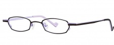 OGI Eyewear 2233 Eyeglasses  Eyeglasses - 1248 Dark Brown / Lilac