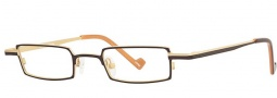 OGI Eyewear 2234 Eyeglasses Eyeglasses - 1253 Dark Brown / Light Bronze