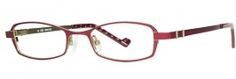 OGI Eyewear 2235 Eyeglasses Eyeglasses - 1265 Berry / Light Green