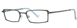 OGI Eyewear 3058 Eyeglasses Eyeglasses - 742 Black / True Blue