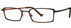 OGI Eyewear 3058 Eyeglasses Eyeglasses - 705 Dark Brown / Brown