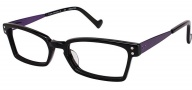OGI Eyewear 3063 Eyeglasses Eyeglasses - 134 Black / Purple