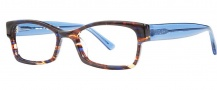 OGI Eyewear 3104 Eyeglasses Eyeglasses - 1382 Blue Camouflage / Blue 