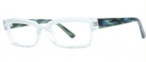 OGI Eyewear 3106 Eyeglasses Eyeglasses - 1414 Green / Blue Ripple 
