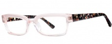 OGI Eyewear 3106 Eyeglasses Eyeglasses - 1413 Pink / Pink Pearl 