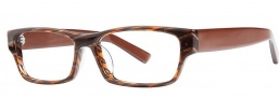 OGI Eyewear 3108 Eyeglasses Eyeglasses - 1409 Brown Tan / Strato Brown