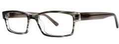 OGI Eyewear 3110 Eyeglasses Eyeglasses - 1438 Grey Cross / Grey