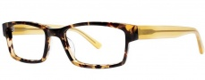 OGI Eyewear 3110 Eyeglasses Eyeglasses - 1440 Leopard / Sunflower Yellow