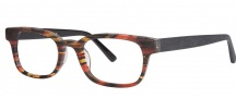 OGI Eyewear 3113 Eyeglasses Eyeglasses - 1448 Orange Camouflage / Black