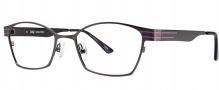 OGI Eyewear 3502 Eyeglasses Eyeglasses - 1299 Dark Gunmetal / Purple