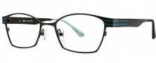 OGI Eyewear 3502 Eyeglasses Eyeglasses - 1264 Dark Olive / Aqua 