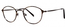 OGI Eyewear 3504 Eyeglasses Eyeglasses - 1325 Brown Demi Foil / Dark Brown 