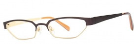 OGI Eyewear 4024 Eyeglasses Eyeglasses - 1253 Dark Brown / Light Bronze