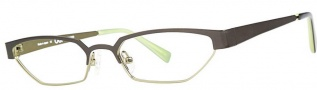 OGI Eyewear 4024 Eyeglasses Eyeglasses - 1131 Dark Olive / Light Olive