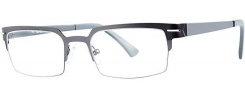 OGI Eyewear 4500 Eyeglasses Eyeglasses - 1247 Gunmetal 