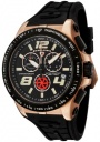 Swiss Legend Men's Sprint Racer 80040 Watch Watches -  80040-RG-01-BB Black Rubber / Rose Gold Case / Black Dial