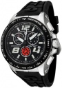 Swiss Legend Men's Sprint Racer 80040 Watch Watches -  80040-01-BB  Black Rubber / Stainless Steel Case / Black Dial