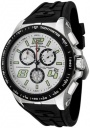 Swiss Legend Men's Sprint Racer 80040 Watch Watches -  80040-02S-BB Black Rubber / Stainless Steel Case / Light Silver Dial