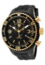 Swiss Legend Men's Neptune 11812P Watch Watches - 11812P-BB-01-GA Black Silicone Strap / Black Dial