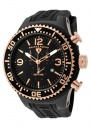 Swiss Legend Men's Neptune 11812P Watch Watches - 11812P-BB-01-RSA Black Silicone Strap / Black Dial