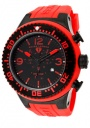 Swiss Legend Men's Neptune 11812P Watch Watches -  11812P-BB-01R Red Silicone Strap / Black Dial