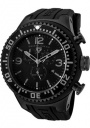 Swiss Legend Men's Neptune 11812P Watch Watches - 11812P-BB-01 Black Silicone Strap / Black Dial