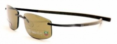 Tag Heuer Spring Sun 0383 Sunglasses Sunglasses - 202 Havana Chocolate Ceramic / Brown Outdoor