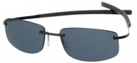 Tag Heuer Spring Sun 0383 Sunglasses Sunglasses - 104 Black Pure / Gradient Grey Outdoor