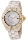 Swiss Legend Women's Karamica 20050 Watch Watches -  20050-BGWGR Beige Ceramic Band / White Mother of Pearl