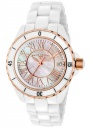 Swiss Legend Women's Karamica 20050 Watch Watches - 20050-WWRR1 White Ceramic Band / White Mother of Pearl Dial