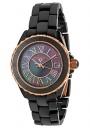 Swiss Legend Women's Karamica 20050 Watch Watches -  20050-BKBRR Black Ceramic / Black Mother of Pearl Dial