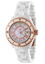 Swiss Legend Women's Karamica 20050 Watch Watches - 20050-WWRR White Ceramic Band / White Mother of Pearl