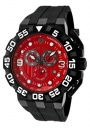 Swiss Legend Challenger 10125 Watch Watches - 10125-RG-05 Black Strap / Red Dial