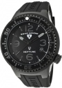 Swiss Legend Neptune 21848D Watch Watches - :21848P-PHT-01 Black Rubber / Black Dial
