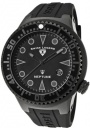 Swiss Legend Neptune 21848D Watch Watches - 21848D-PHT-01 Black Silicone / Black Dial