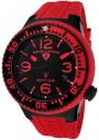 Swiss Legend Neptune 21848D Watch Watches - :21848P-BB-01-RBS Red Silicone Strap / Black Dial