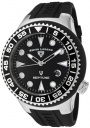 Swiss Legend Neptune 21848D Watch Watches - 21848D-01-NB Black Rubber Strap / Black Dial