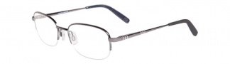 Joseph Abboud JA4021 Eyeglasses Eyeglasses - Gunmetal 