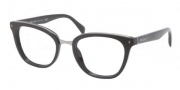 Prada PR 06PV Eyeglasses  Eyeglasses - 1AB101 Black Demo Lens