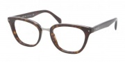 Prada PR 06PV Eyeglasses  Eyeglasses - 2AU101 Havana Demo Lens