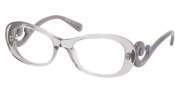 Prada PR 09PV Eyeglasses Eyeglasses - HA9101 Transparent Gray Demo Lens