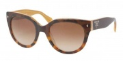 Prada PR 17OS Sunglasses Sunglasses - FAL1Z1 Top Light Havana / Opal Ye Brown Gradient