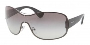 Prada PR 63OS Sunglasses Sunglasses - 5AV3M1 Gunmetal Gray Gradient 